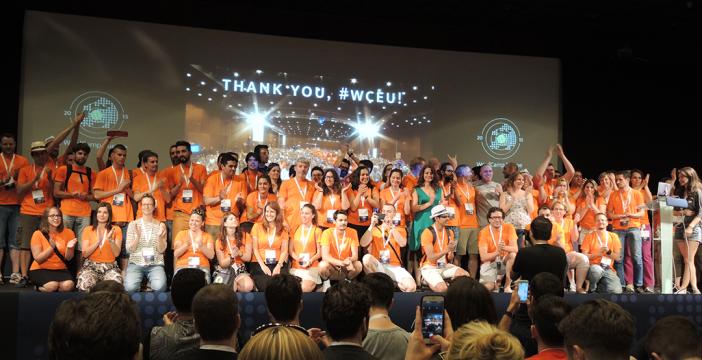 WCEU 15 Volunteers